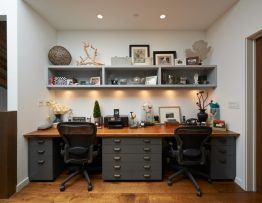 Two persons Home Office
